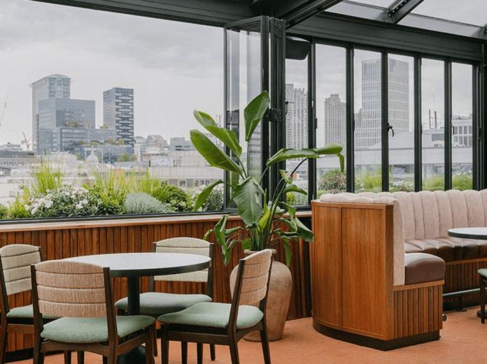 rooftop bars in london maya hoxton