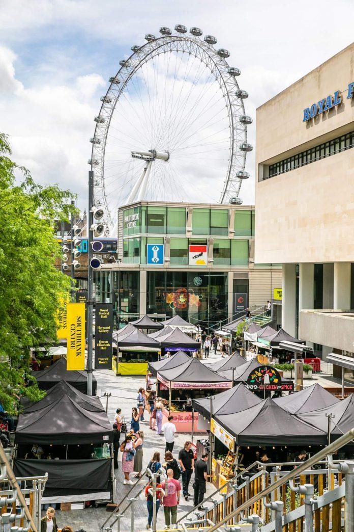 southbank market in london