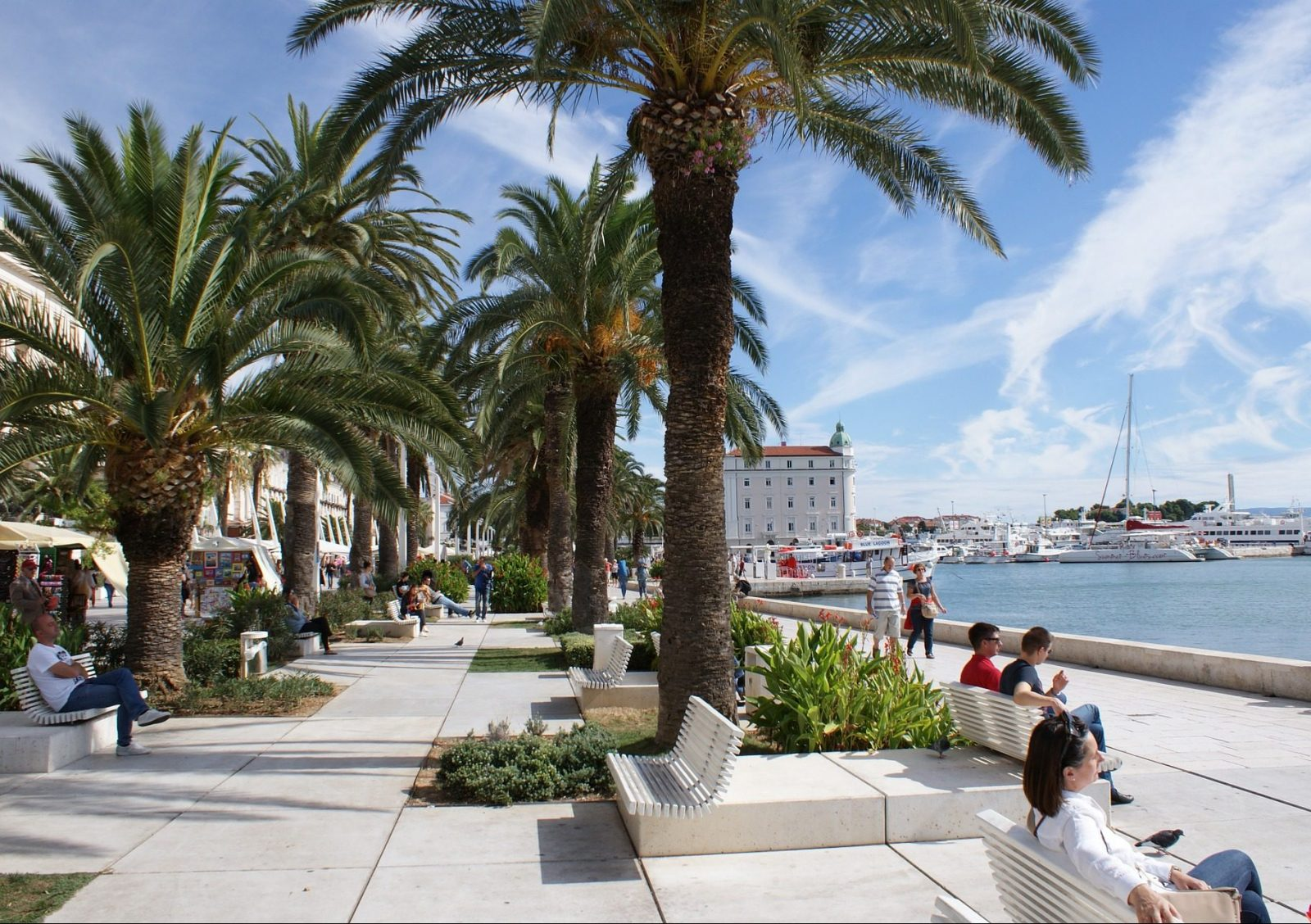 split Croatia guide promenade