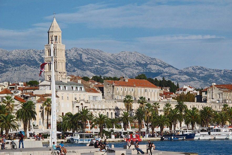 split croatia promenade guide