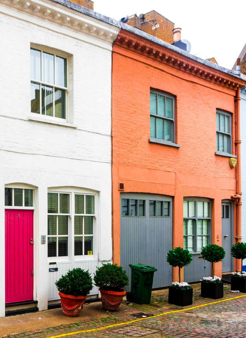 Stanhope mews prettiest street in london