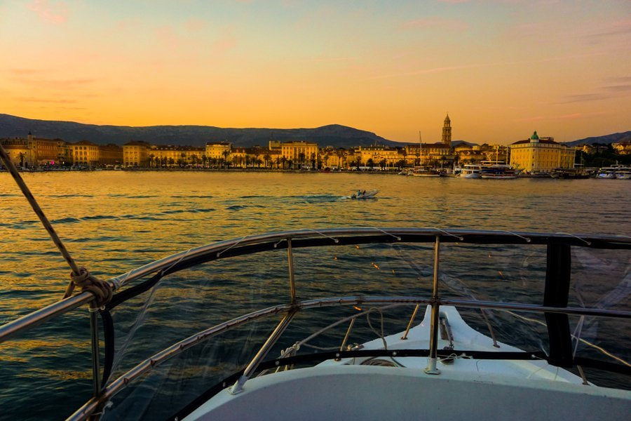 sunset tour in split croatia