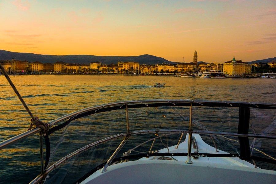 sunset tour in split croatia
