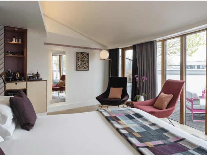 sustainable hotels in uk zetter hotel london