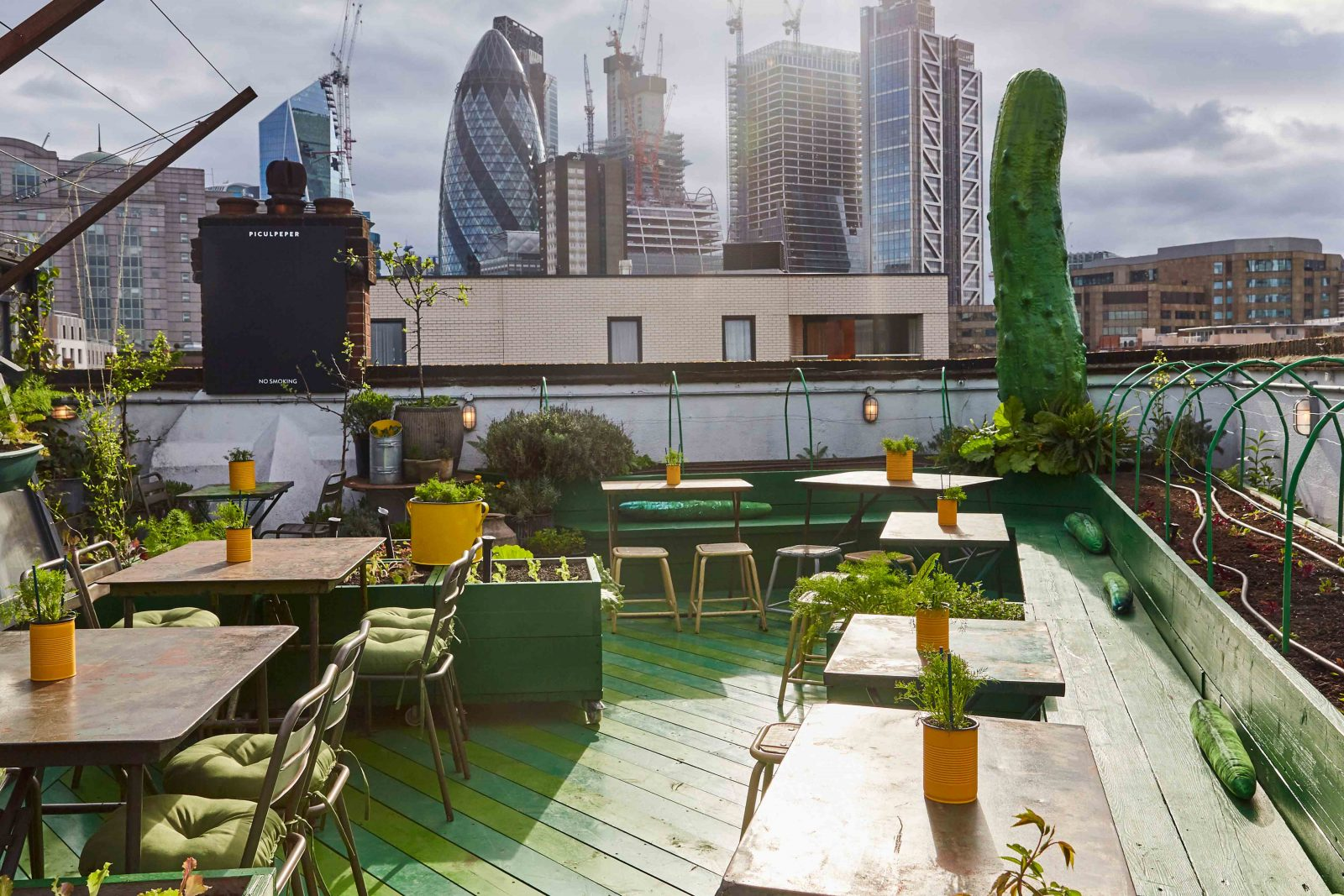 the culpeper best rooftop bars in London