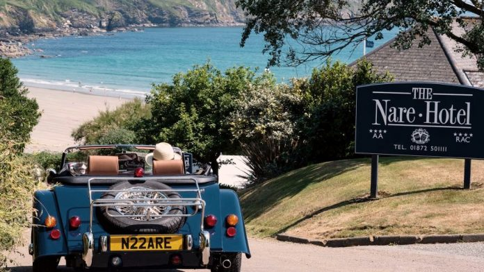 the nare luxury hotel in cornwall