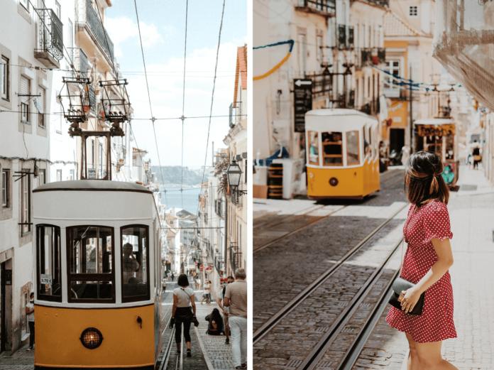 tram 28 portugal Lisbon attractions