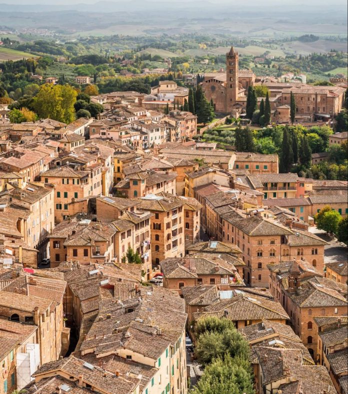 tuscan towns during autumn jpg