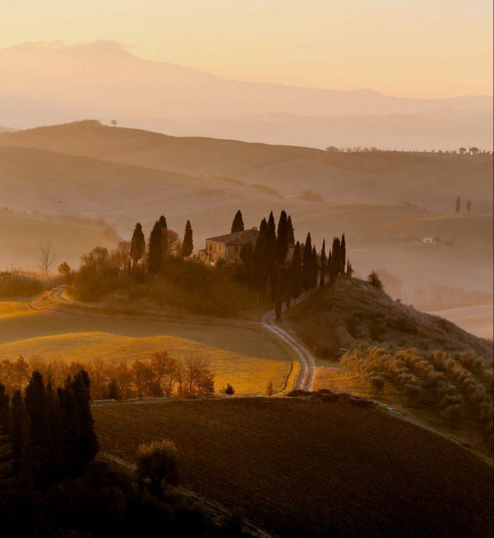 tuscany during autumn