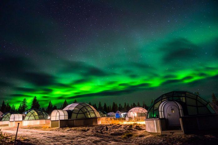unique hotels Kakslauttanen Arctic