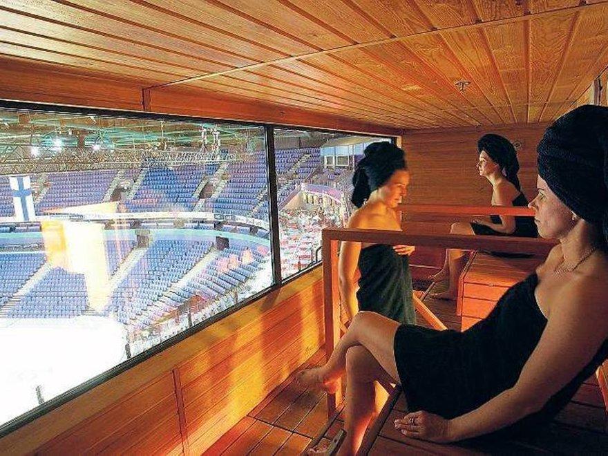 unique saunas in finalnd skybox