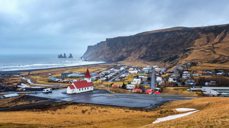 vik village iceland south coast