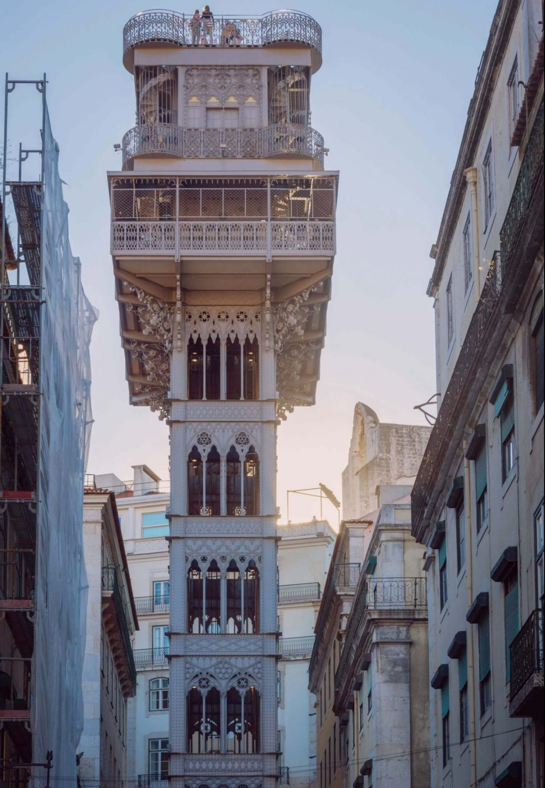 what to do in lisbon santa justa