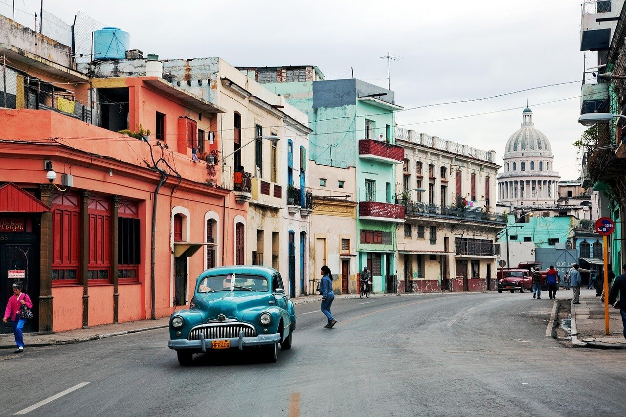 where to go in April spring break cuba