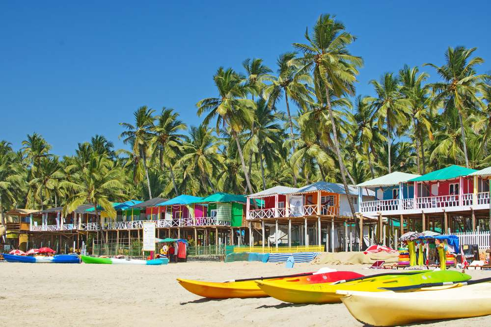 where to go in january goa